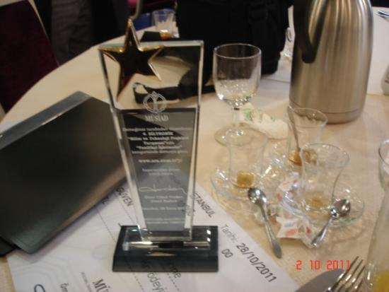 Arama Motoru için Altın Proje Ödül Töreni Resimleri