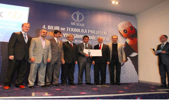 Türk Arama Motoru Ara.com.tr'ye Müsiad Altın Proje  Ödülü